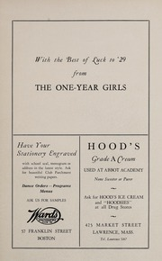 Page 147, 1929 Edition, Abbot Academy - Circle Yearbook (Andover, MA) online yearbook collection