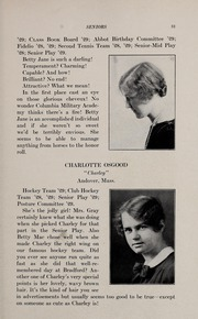 Page 35, 1929 Edition, Abbot Academy - Circle Yearbook (Andover, MA) online yearbook collection