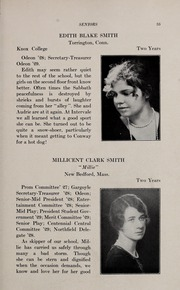 Page 39, 1929 Edition, Abbot Academy - Circle Yearbook (Andover, MA) online yearbook collection
