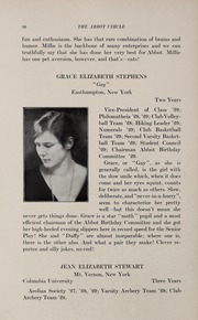 Page 40, 1929 Edition, Abbot Academy - Circle Yearbook (Andover, MA) online yearbook collection