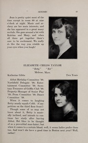Page 41, 1929 Edition, Abbot Academy - Circle Yearbook (Andover, MA) online yearbook collection