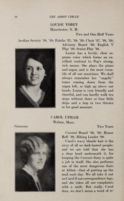 Page 42, 1929 Edition, Abbot Academy - Circle Yearbook (Andover, MA) online yearbook collection
