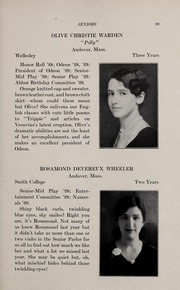 Page 43, 1929 Edition, Abbot Academy - Circle Yearbook (Andover, MA) online yearbook collection