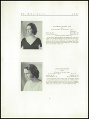 Page 34, 1932 Edition, Abbot Academy - Circle Yearbook (Andover, MA) online yearbook collection