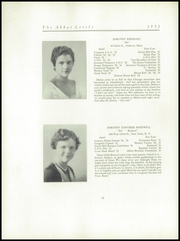 Page 36, 1932 Edition, Abbot Academy - Circle Yearbook (Andover, MA) online yearbook collection