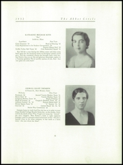 Page 37, 1932 Edition, Abbot Academy - Circle Yearbook (Andover, MA) online yearbook collection