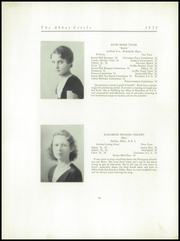 Page 38, 1932 Edition, Abbot Academy - Circle Yearbook (Andover, MA) online yearbook collection