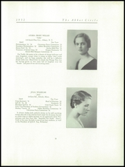 Page 39, 1932 Edition, Abbot Academy - Circle Yearbook (Andover, MA) online yearbook collection
