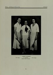 Page 65, 1933 Edition, Abbot Academy - Circle Yearbook (Andover, MA) online yearbook collection