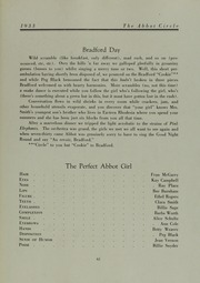 Page 67, 1933 Edition, Abbot Academy - Circle Yearbook (Andover, MA) online yearbook collection