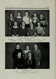 Page 78, 1933 Edition, Abbot Academy - Circle Yearbook (Andover, MA) online yearbook collection