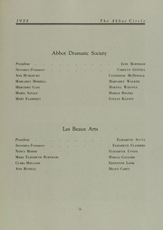 Page 79, 1933 Edition, Abbot Academy - Circle Yearbook (Andover, MA) online yearbook collection