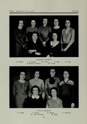 Page 80, 1933 Edition, Abbot Academy - Circle Yearbook (Andover, MA) online yearbook collection