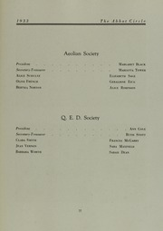 Page 81, 1933 Edition, Abbot Academy - Circle Yearbook (Andover, MA) online yearbook collection