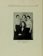 Page 62, 1934 Edition, Abbot Academy - Circle Yearbook (Andover, MA) online yearbook collection