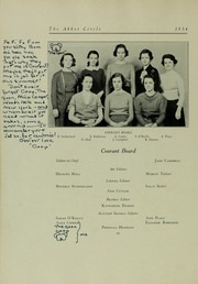 Page 64, 1934 Edition, Abbot Academy - Circle Yearbook (Andover, MA) online yearbook collection