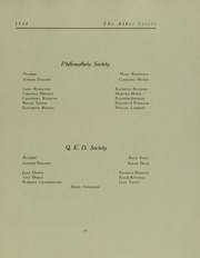 Page 67, 1934 Edition, Abbot Academy - Circle Yearbook (Andover, MA) online yearbook collection