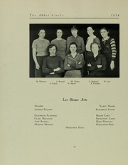 Page 70, 1934 Edition, Abbot Academy - Circle Yearbook (Andover, MA) online yearbook collection