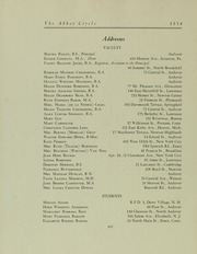 Page 96, 1934 Edition, Abbot Academy - Circle Yearbook (Andover, MA) online yearbook collection