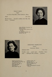 Page 21, 1937 Edition, Abbot Academy - Circle Yearbook (Andover, MA) online yearbook collection