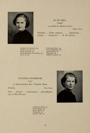 Page 22, 1937 Edition, Abbot Academy - Circle Yearbook (Andover, MA) online yearbook collection
