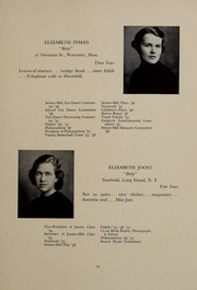 Page 23, 1937 Edition, Abbot Academy - Circle Yearbook (Andover, MA) online yearbook collection