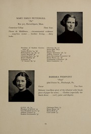 Page 27, 1937 Edition, Abbot Academy - Circle Yearbook (Andover, MA) online yearbook collection