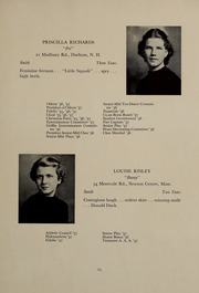 Page 29, 1937 Edition, Abbot Academy - Circle Yearbook (Andover, MA) online yearbook collection