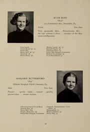 Page 30, 1937 Edition, Abbot Academy - Circle Yearbook (Andover, MA) online yearbook collection