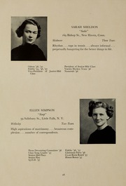 Page 32, 1937 Edition, Abbot Academy - Circle Yearbook (Andover, MA) online yearbook collection