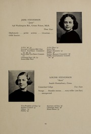 Page 33, 1937 Edition, Abbot Academy - Circle Yearbook (Andover, MA) online yearbook collection