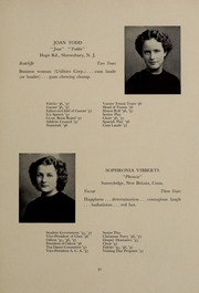 Page 35, 1937 Edition, Abbot Academy - Circle Yearbook (Andover, MA) online yearbook collection