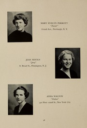 Page 40, 1937 Edition, Abbot Academy - Circle Yearbook (Andover, MA) online yearbook collection