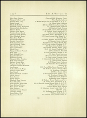 Page 119, 1938 Edition, Abbot Academy - Circle Yearbook (Andover, MA) online yearbook collection