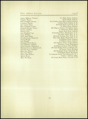 Page 120, 1938 Edition, Abbot Academy - Circle Yearbook (Andover, MA) online yearbook collection