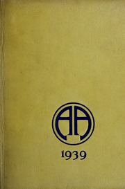Abbot Academy - Circle Yearbook (Andover, MA) online yearbook collection, 1939 Edition, Page 1