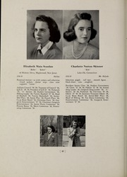 Page 46, 1939 Edition, Abbot Academy - Circle Yearbook (Andover, MA) online yearbook collection