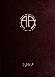 Abbot Academy - Circle Yearbook (Andover, MA) online yearbook collection, 1940 Edition, Page 1