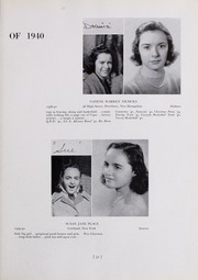 Page 35, 1940 Edition, Abbot Academy - Circle Yearbook (Andover, MA) online yearbook collection