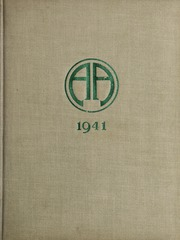 Abbot Academy - Circle Yearbook (Andover, MA) online yearbook collection, 1941 Edition, Page 1