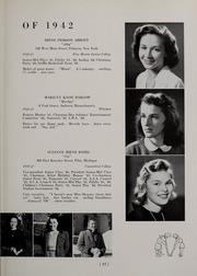Page 17, 1942 Edition, Abbot Academy - Circle Yearbook (Andover, MA) online yearbook collection