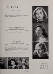 Page 35, 1942 Edition, Abbot Academy - Circle Yearbook (Andover, MA) online yearbook collection
