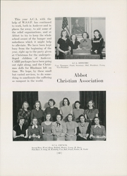 Page 47, 1948 Edition, Abbot Academy - Circle Yearbook (Andover, MA) online yearbook collection