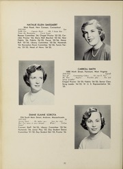 Page 36, 1955 Edition, Abbot Academy - Circle Yearbook (Andover, MA) online yearbook collection