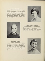 Page 38, 1955 Edition, Abbot Academy - Circle Yearbook (Andover, MA) online yearbook collection