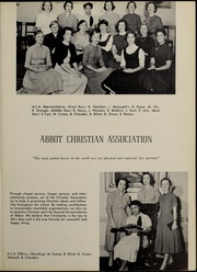 Page 61, 1955 Edition, Abbot Academy - Circle Yearbook (Andover, MA) online yearbook collection