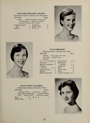 Page 19, 1956 Edition, Abbot Academy - Circle Yearbook (Andover, MA) online yearbook collection