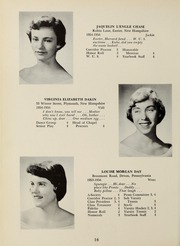 Page 20, 1956 Edition, Abbot Academy - Circle Yearbook (Andover, MA) online yearbook collection