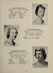 Page 29, 1956 Edition, Abbot Academy - Circle Yearbook (Andover, MA) online yearbook collection