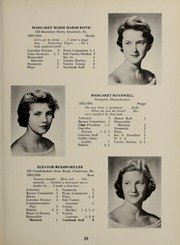 Page 33, 1956 Edition, Abbot Academy - Circle Yearbook (Andover, MA) online yearbook collection